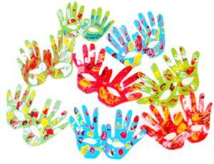 Antifaz manos